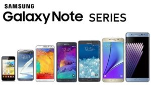 Samsung note series